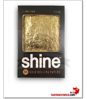 Papel Oro Shine 1 1/4 1 hoja