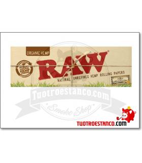 Pegatina grande Raw orgánico