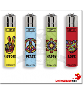 Clipper Micro Peace & Love