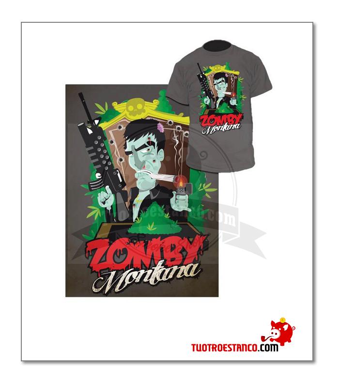 Camiseta talla S Zomby Montana