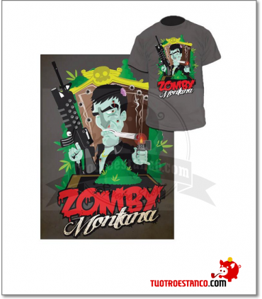 Camiseta Zomby Montana