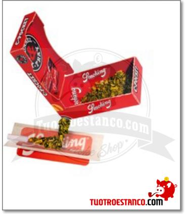 Caja de bolsillo Porta tabaco Smoking