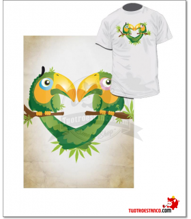 Camiseta Tucan Lovers