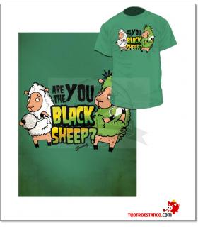 Camiseta Oveja verde