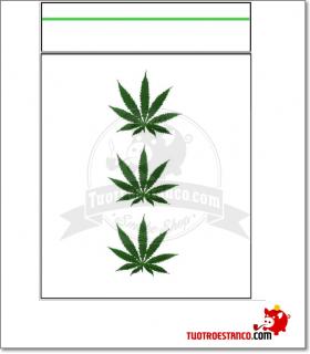 Bolsa Hermetica transparente hoja 50x120mm( 1 x100)