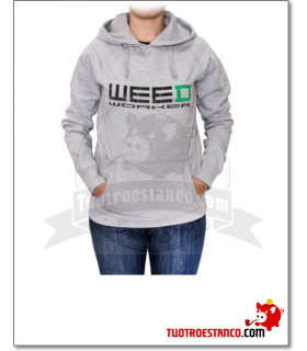 Sudadera abierta Weed Worker Chica talla S
