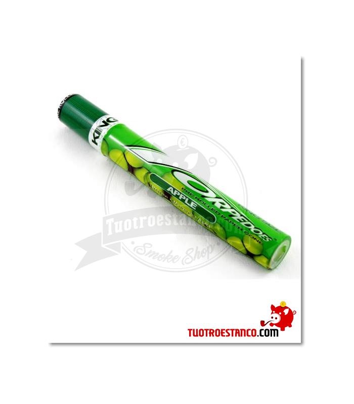 Papel Torpedoes Cones King Size sabor Manzana