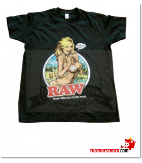 Camiseta Raw Girl