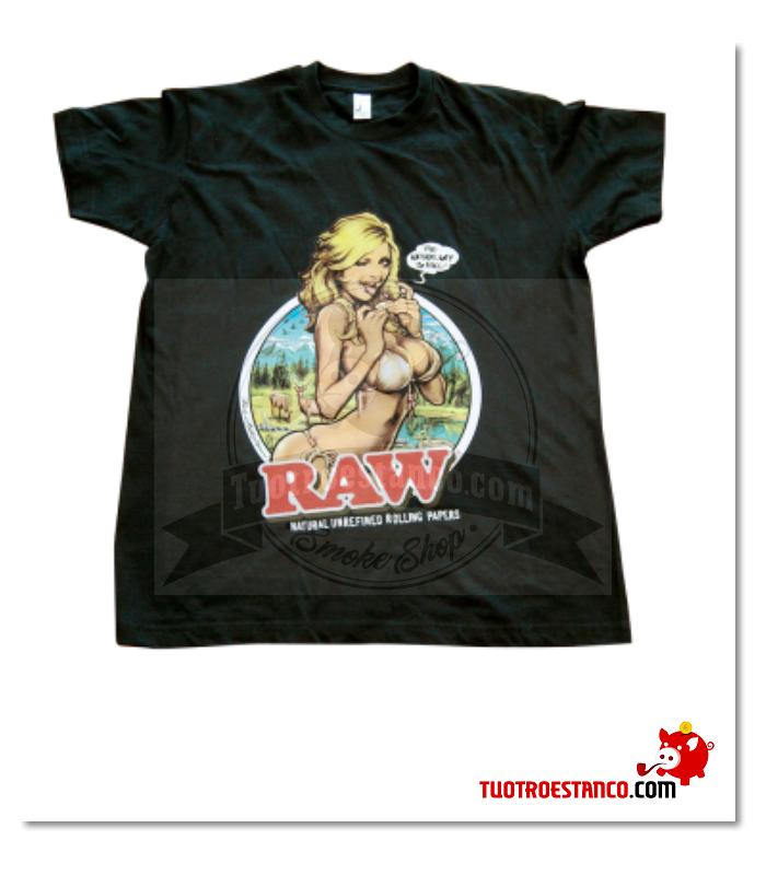 Camiseta Raw Girl