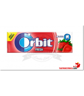 Chicles Orbit Fresa gragea