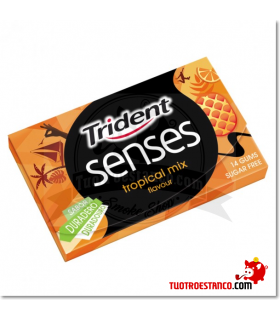Trident Senses Tropical 14 chicles