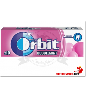 Chicles Orbit Bubblemint gragea