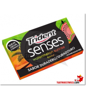 Trident Senses Sandía 14 chicles