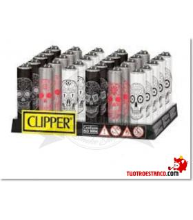 Clipper + Funda metálica Calaveras
