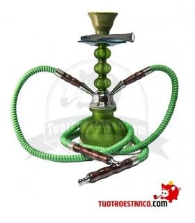 Shisha Aladin 28 cm 2 Mangueras