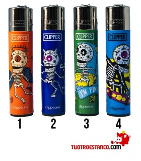 CLIPPER BACK TO SKULL 3