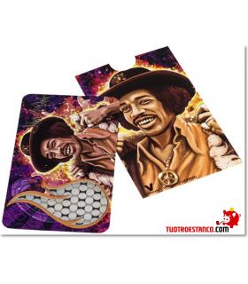 Grinder tarjeta Jimmi Hendrix Flames