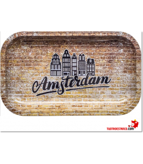 Bandeja Metálica Brick Amsterdam grande