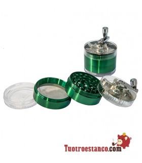 Grinder Molinillo 60 mm 4 Piezas
