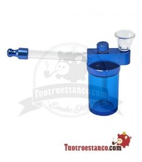 Pipa de plástico con envase ancho