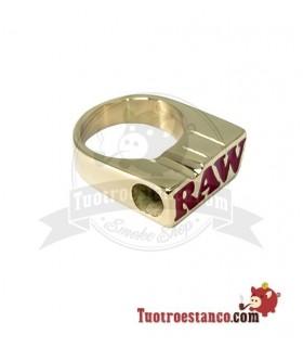 Anillo Bañador en Oro Raw
