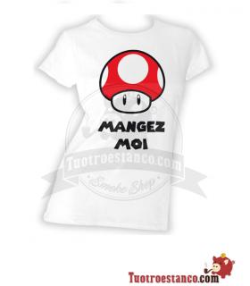 Camiseta blanca Seta Mario Chica
