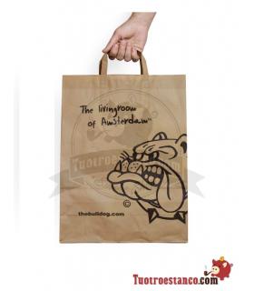 Bolsa de papel Bulldog Amsterdam 33 x 22 cm