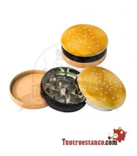Grinder Metal Hamburguesa 55 mm 3 piezas