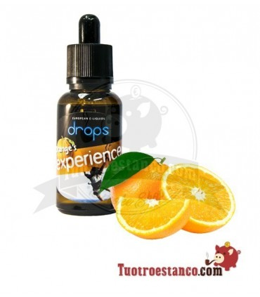 Líquido Drops 30 ml Orange experience