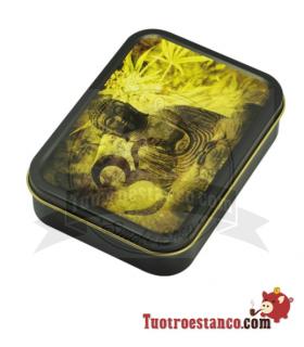 Caja metal Buddha