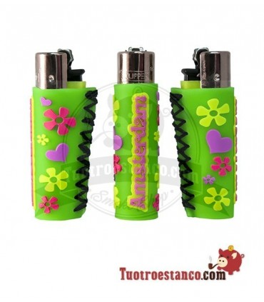 Clipper Holanda Flower Funda silicona