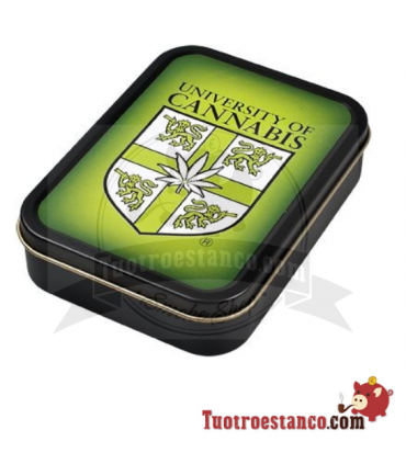 Caja metal University of Cannabis