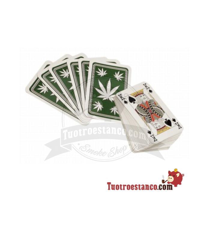 Baraja Poker Leaf