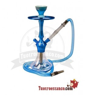 Cachimba EL Keyif de 40 cm Blue Clear